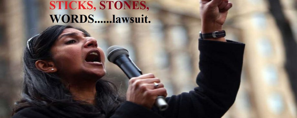 Sticks, Stones and Words–Two Police Officers Sue Sawant For Defamation